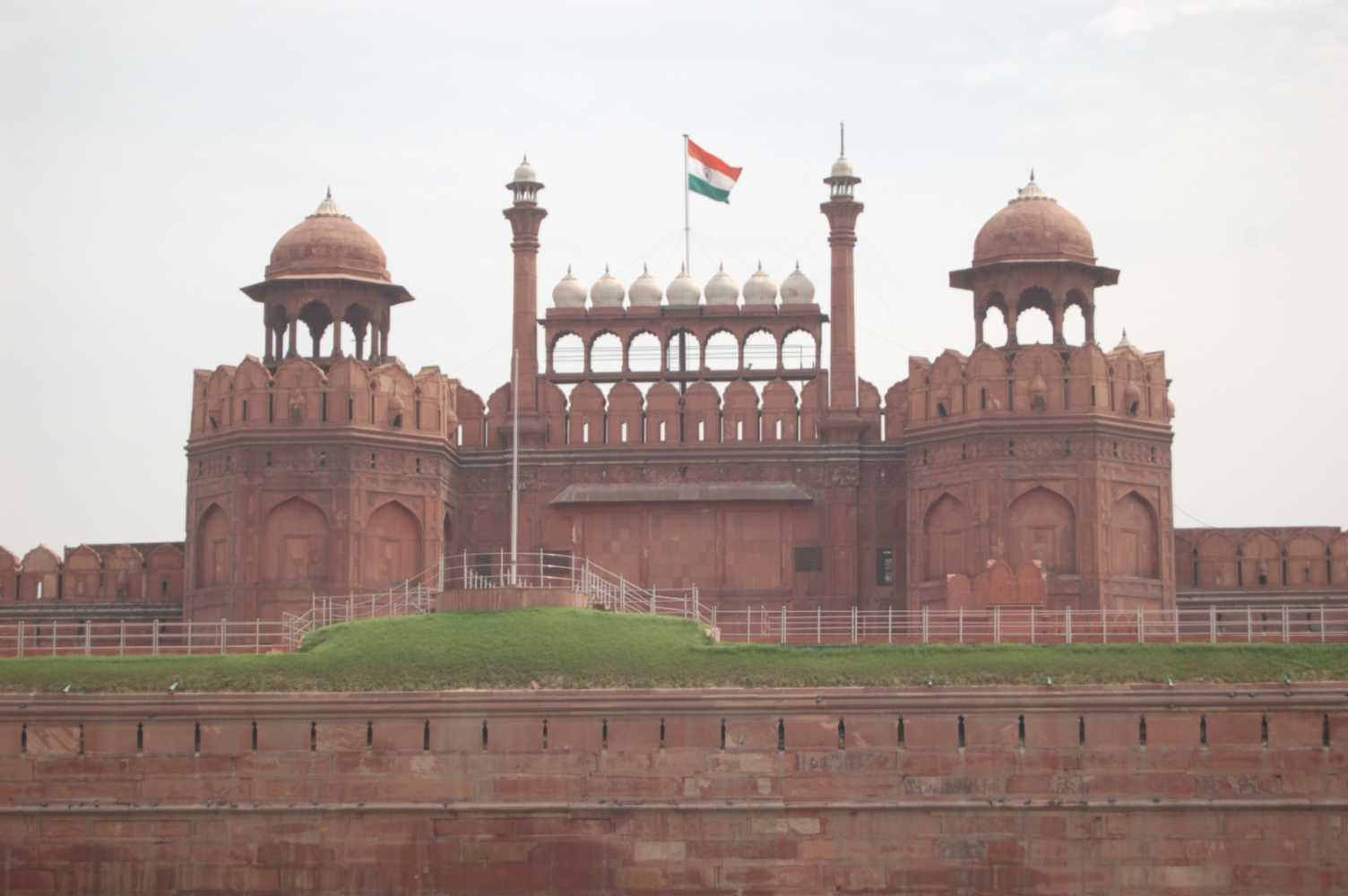 Lal Qila, a.k.a. Red Fort.