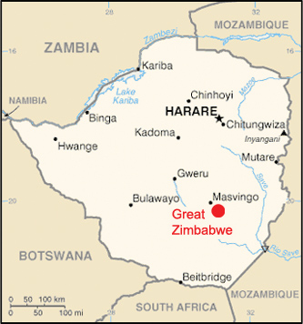 great-zimbabwe-map