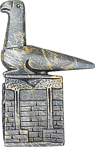 Zimbabwe stone bird replica